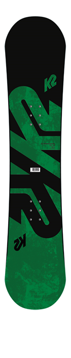 K2 Snowboard Wide (UK Shoe Size 10+)