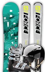 Red Category Skis